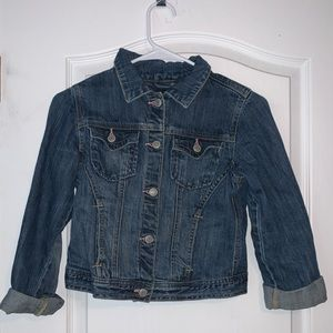 Gap XL girls denim jacket!
